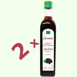 2 Bottles Aronia Vinegar 500ml